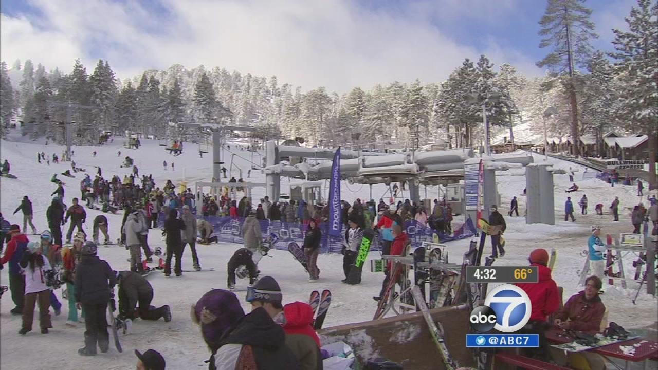 mountain high resort opens for 2013-14 season   abc7