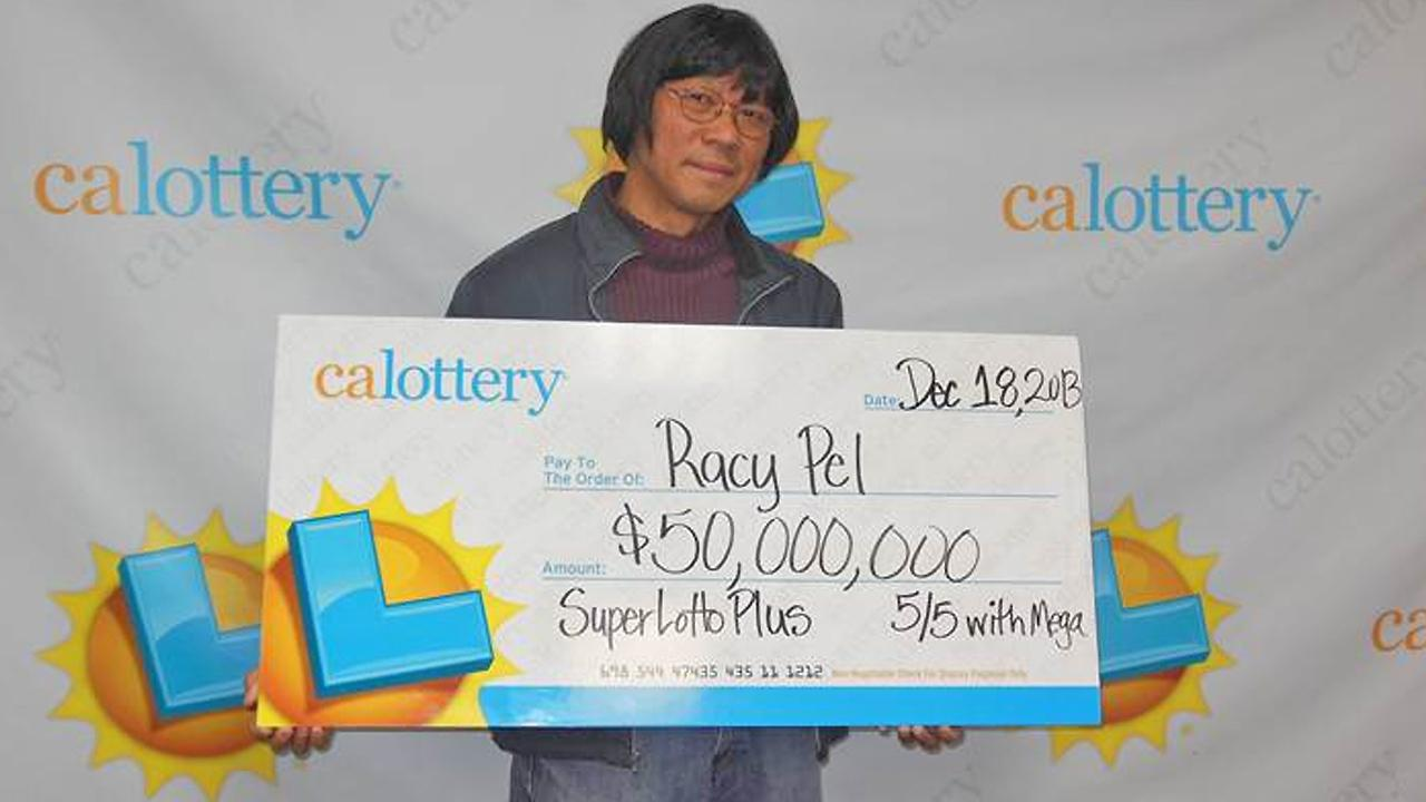 Racy Pel is seen in this photo Dec. 24, 2013. He purchased two winning Lotto tickets from the same store in Los Alamitos, winning a total of $50,032,304.