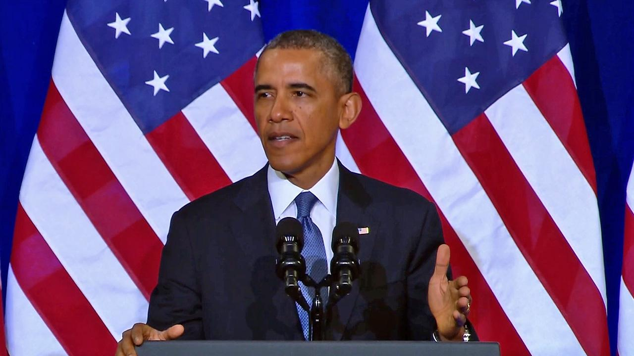 President Barack Obama discusses changes to NSA programs on Friday, Jan. 17, 2014.