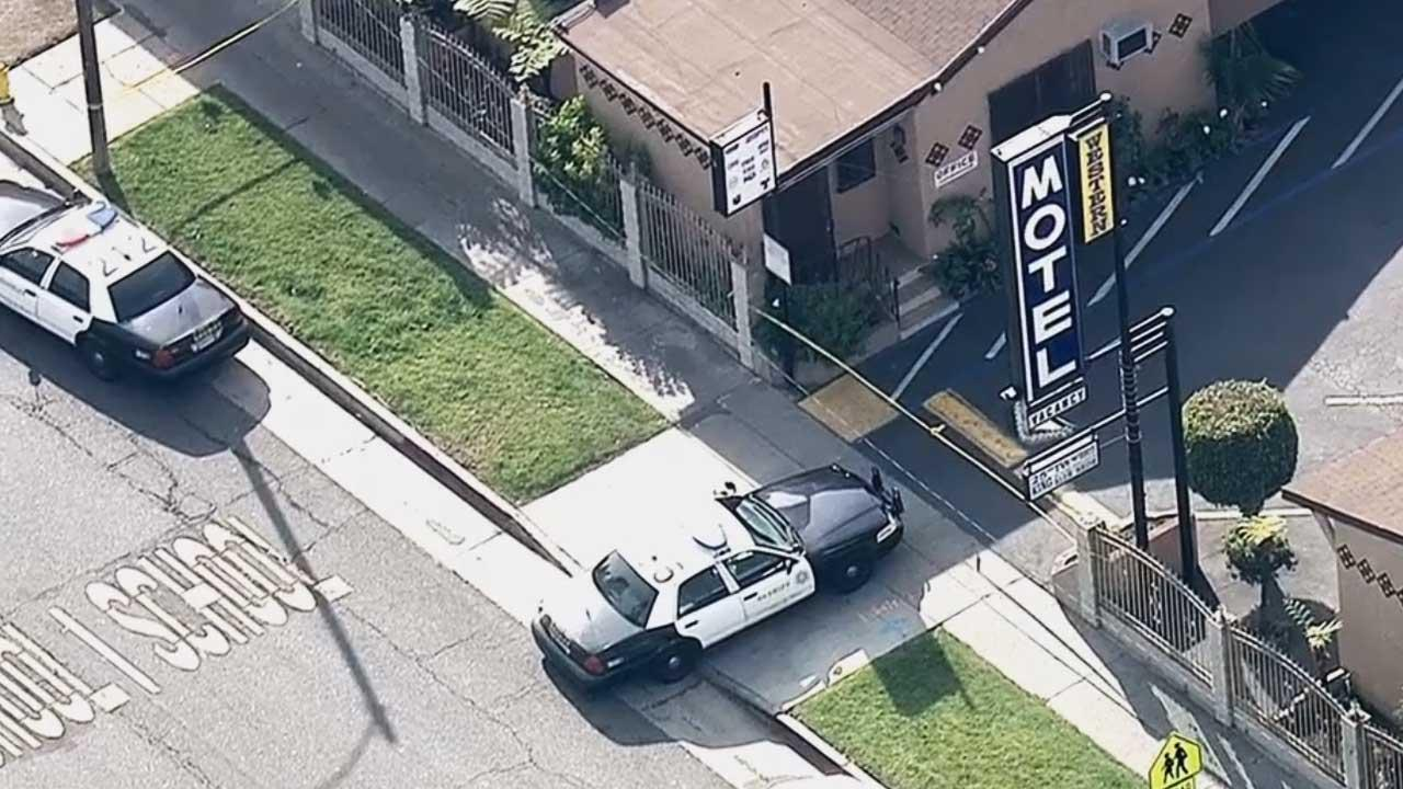 A man was fatally stabbed at this Vermont Avenue motel in the Westmont area of Los Angeles County on Jan. 23, 2014.