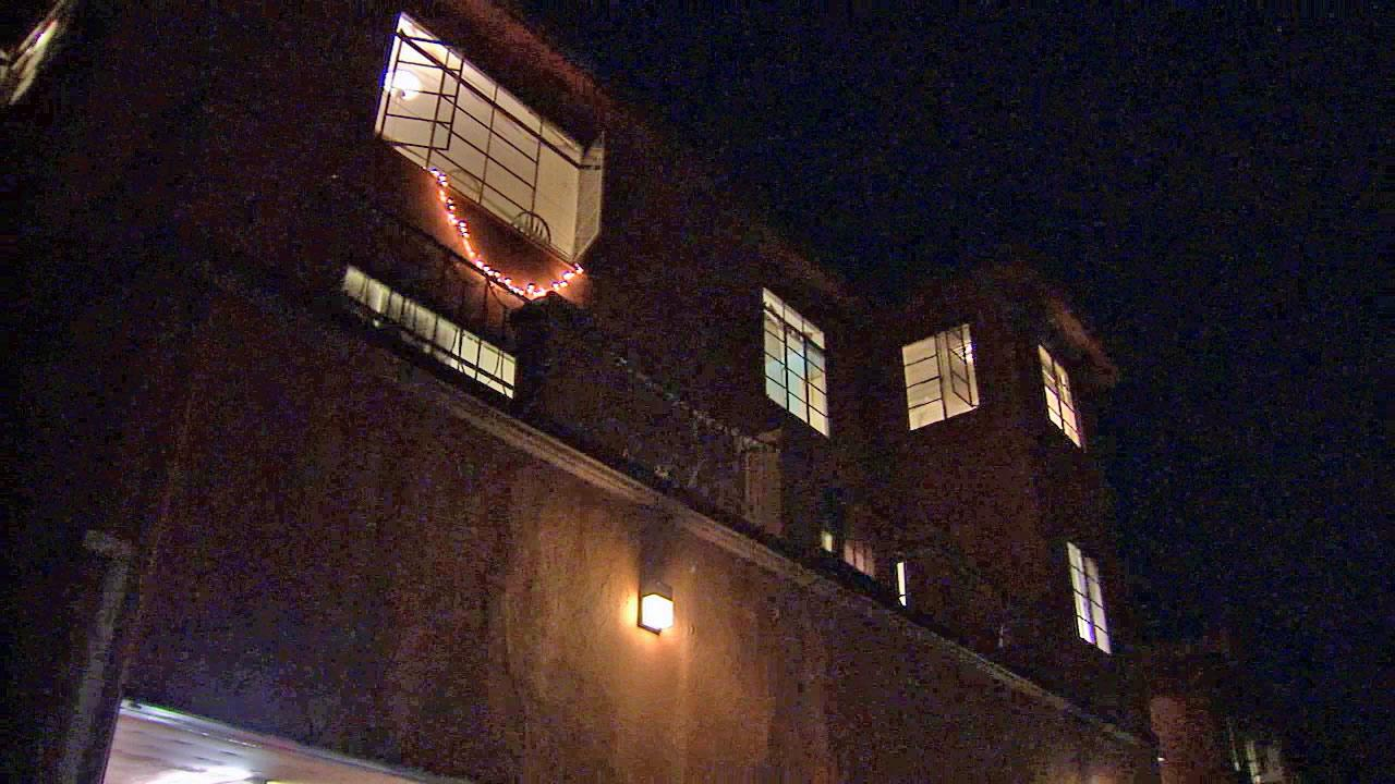 An apartment building is seen where a UCLA spotted a Peeping Tom on Sunday, Jan. 26, 2014.