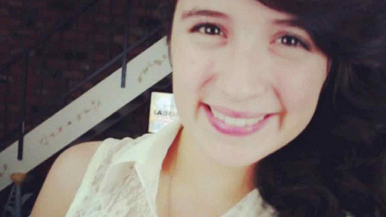 Sandra Martinez, a 16-year-old cheerleader at Azusa High School, is seen in this photo