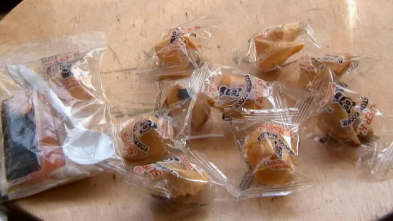 Fortune cookies are seen in this undated file photo.