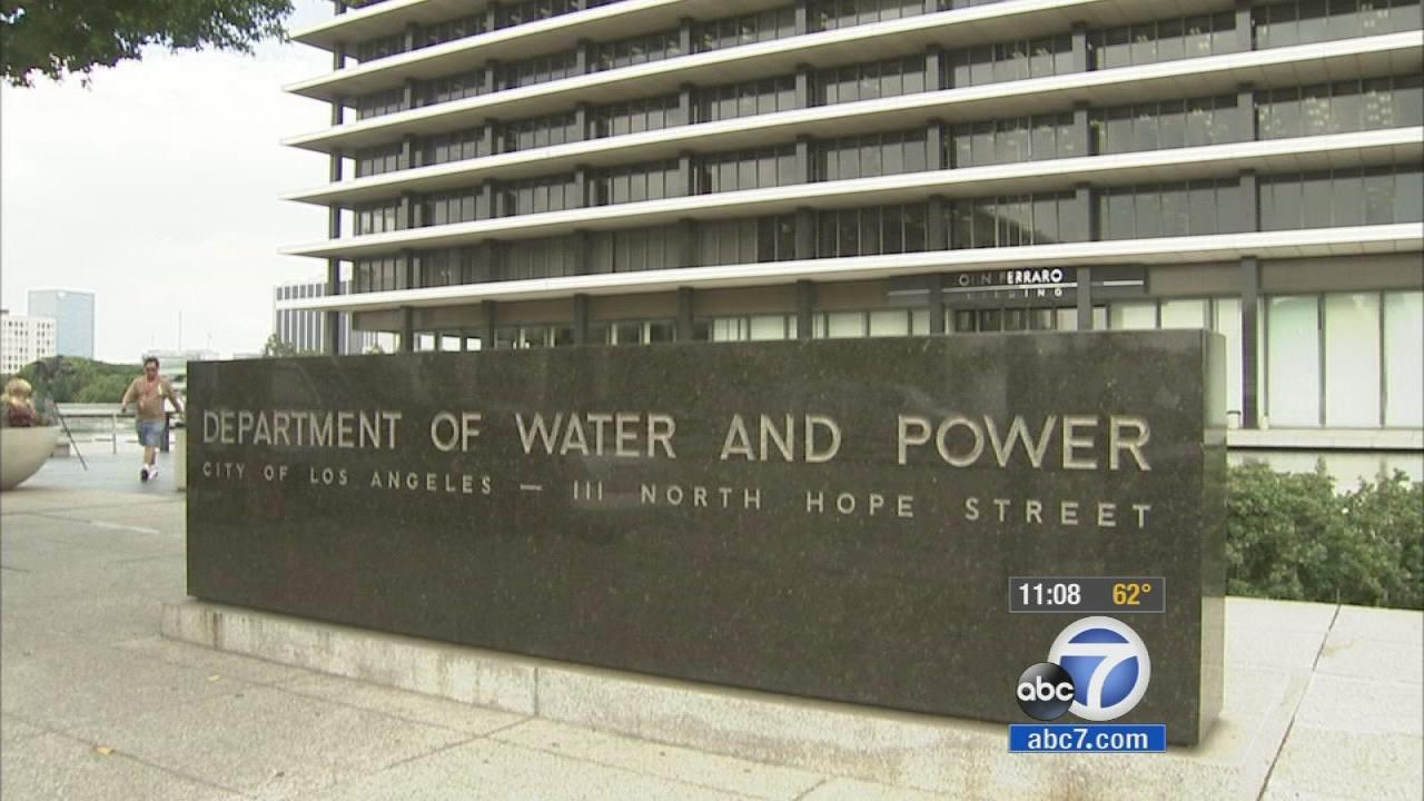 The Los Angeles Department of Water and Power is seen in this undated file photo.