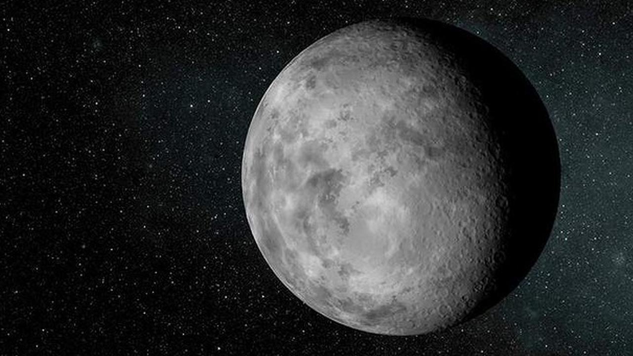 This NASA image shows a rendering of the newfound planet known as Kepler-37b.