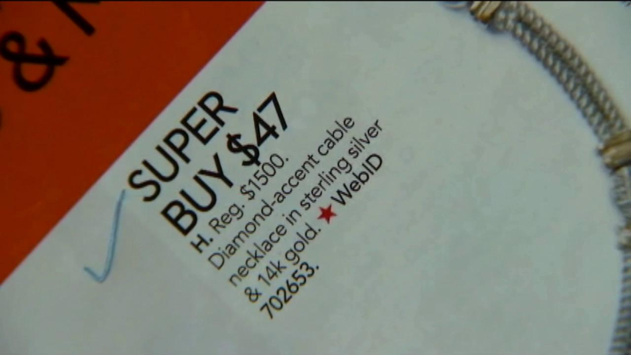 Macys mistakenly advertised a diamond necklace for $47 in the department stores catalog.