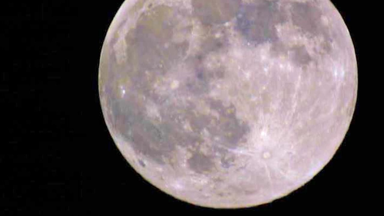 ABC7 viewer Rachel Matthewson shared this picture of the supermoon on Facebook on Saturday, June 22, 2013.
