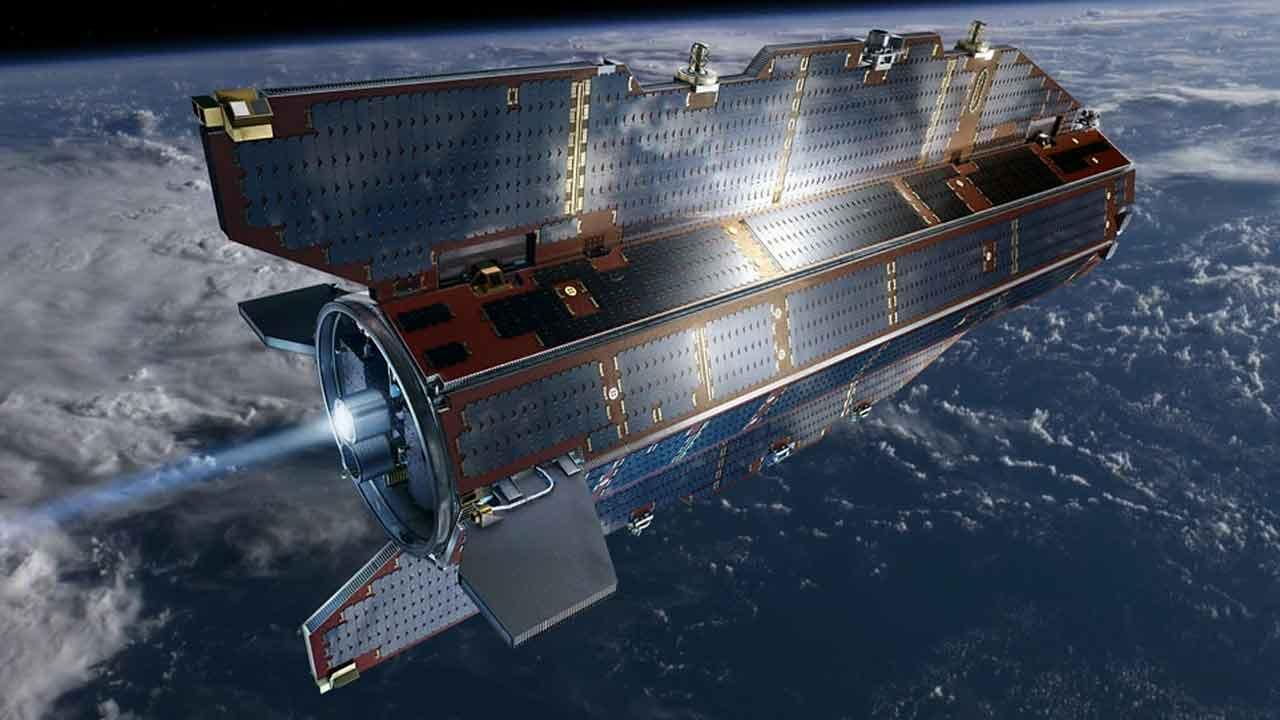 The European Space Agencys Gravity Field and Steady-State Ocean Circulation Explorer (GOCE) satellite is seen in this undated file photo.