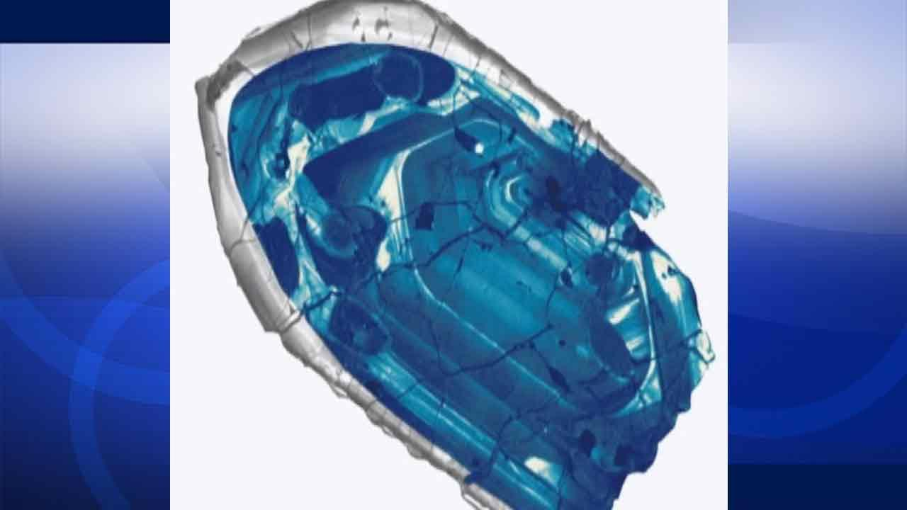 A 4.4 billion-year-old crystal is the oldest piece of Earth ever found, according to a study published in the journal Nature Geoscience Sunday, Feb. 23, 2014.