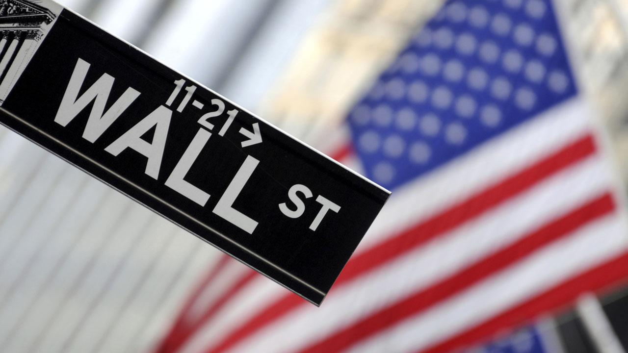 A Wall Street sign is seen in this undated file photo.