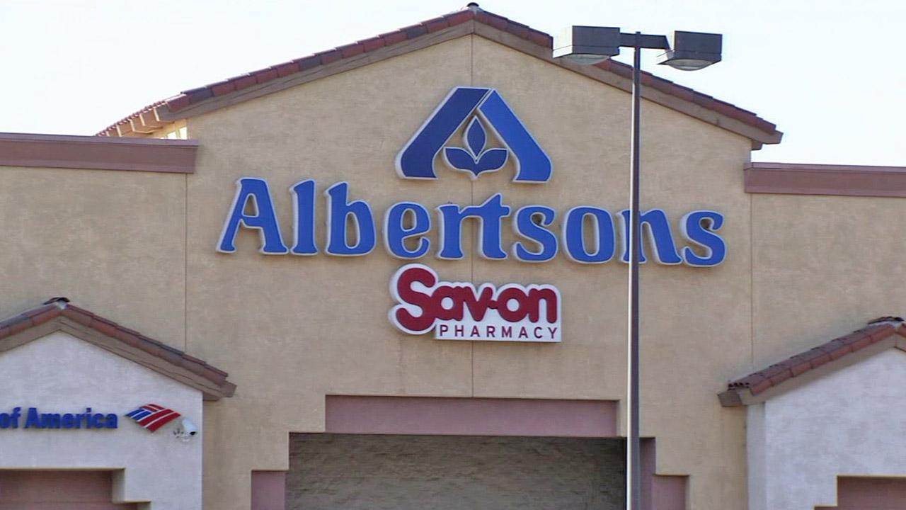 An Albertsons store is seen in this undated file photo.