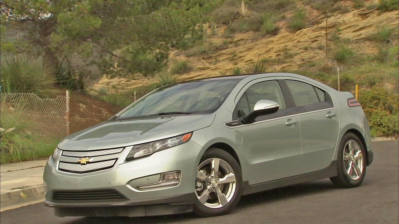 A Chevy Volt is seen in this undated photo.