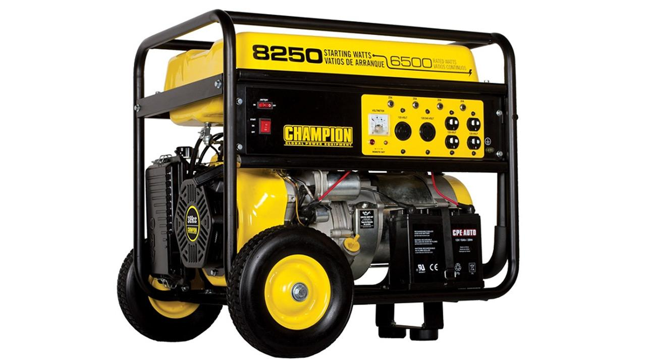 This photo shows Champion Power Equipments portable generator, Model 41332, which is one of two models that has been recalled due to a fire hazard.