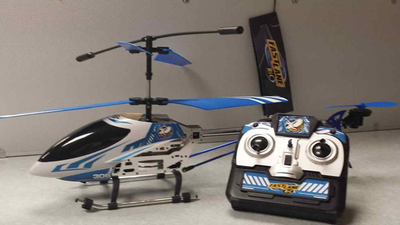 The Fast Lane FA-005 Radio Control 3-Channel Helicopter is seen in this undated file photo.