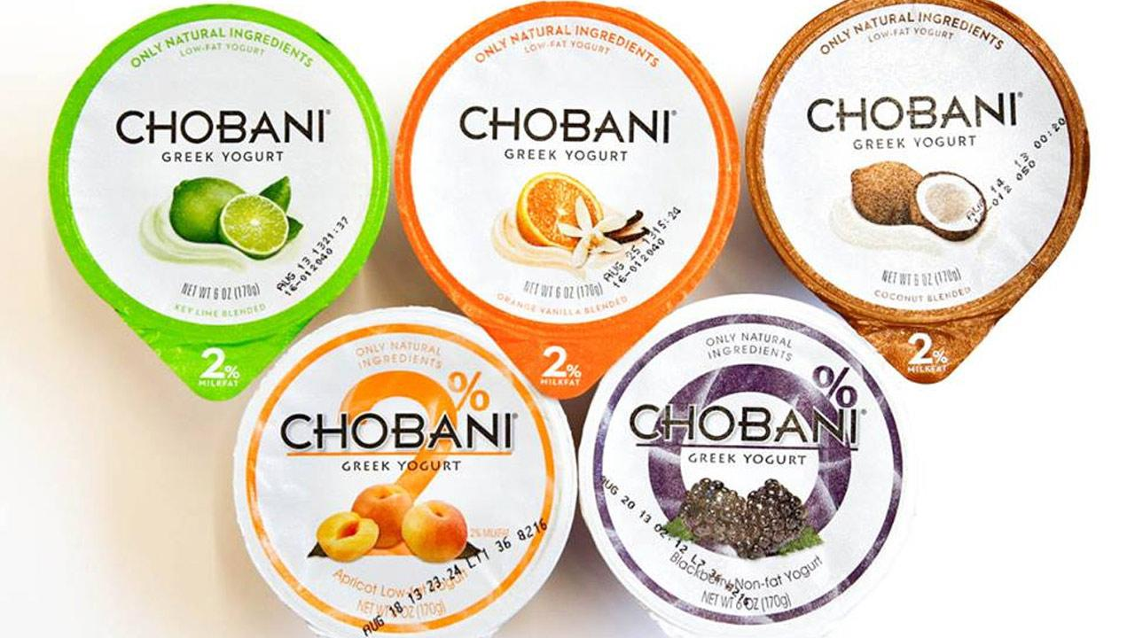 Flavors of Chobani yogurt are shown in this photo from the companys Facebook page. Note: The types of yogurt in this photo are not necessarily the products affected in the companys latest replacement initiative.