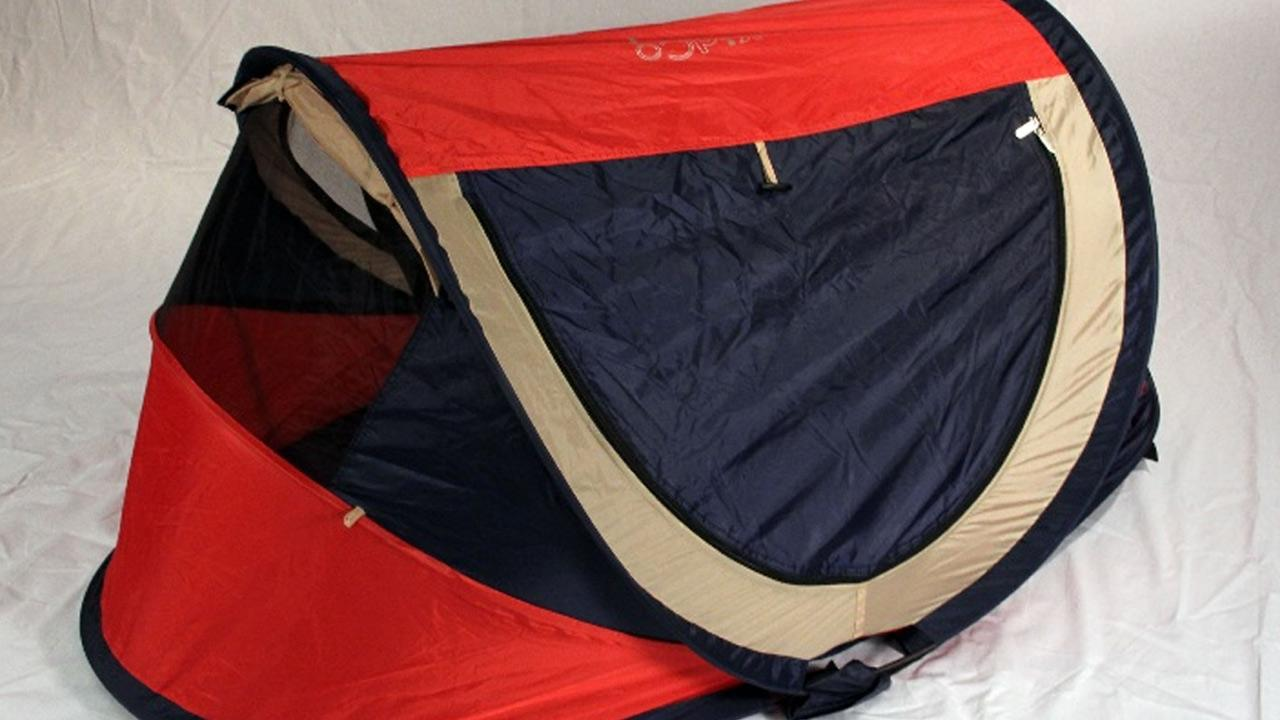 A KidCo PeaPod Plus Travel Bed is shown in this file photo provided by the U.S. Consumer Product Safety Commission.