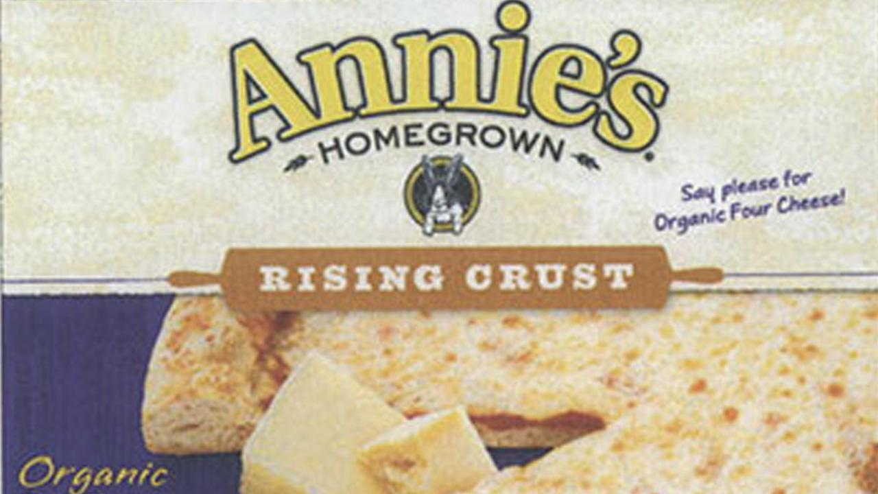 Berkeley-based pizza maker Annies Homegrown Inc. is recalling its frozen pizza because they may contain metal fragments.