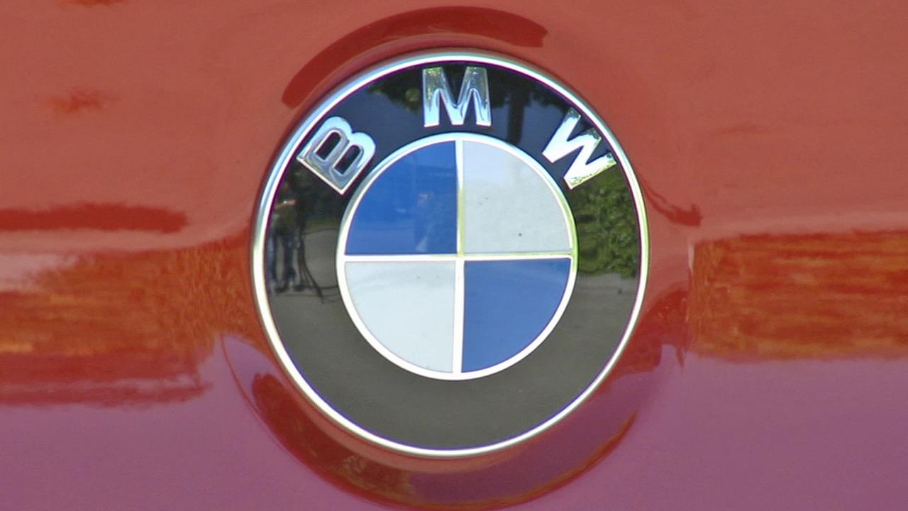 BMWs logo is shown in this undated file photo.