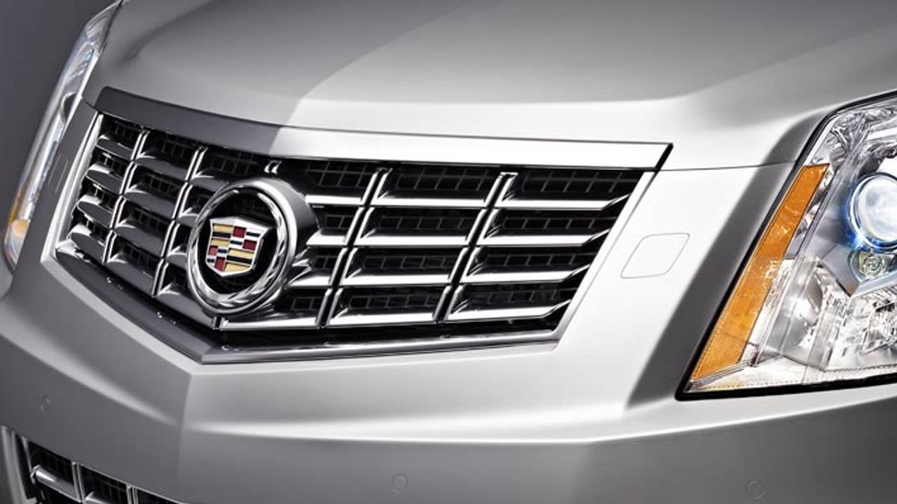 A closeup look at the 2013 Cadillac SRX, from Cadillacs website.