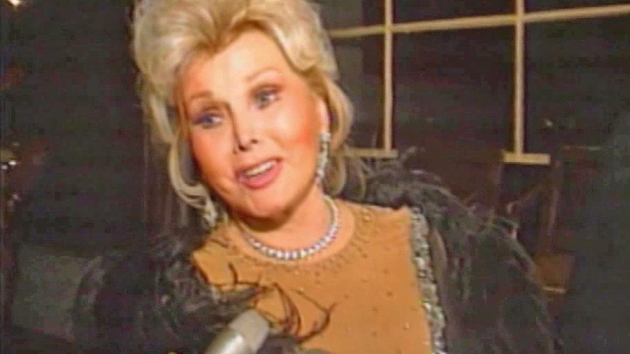 Zsa Zsa Gabor is seen in this undated file photo.