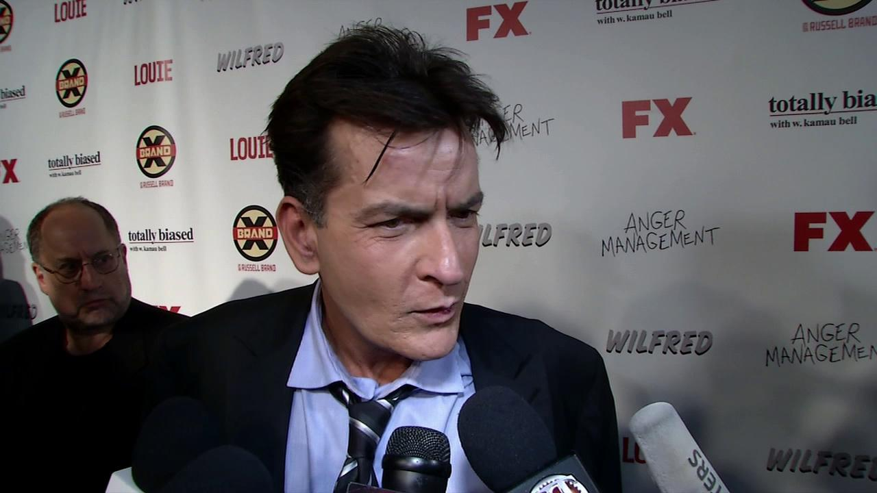 Charlie Sheen attends the FX Summer Comedies Party at Lure on Tuesday, June 26, 2012 in Los Angeles.