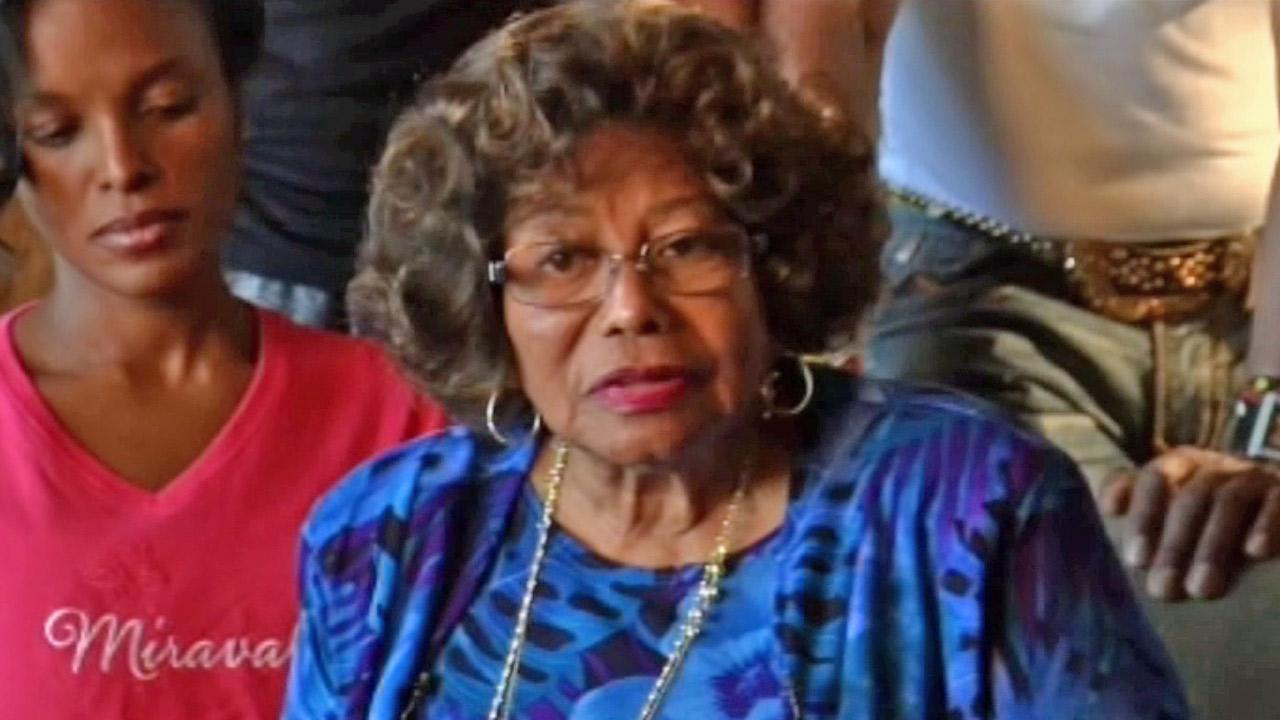 Michael Jacksons mother Katherine Jackson speaks in an interview with ABC News in this July 2012 still image.