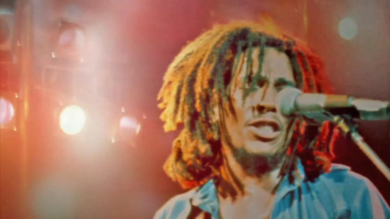 Reggae icon Bob Marley is seen during a performance in this undated file photo.