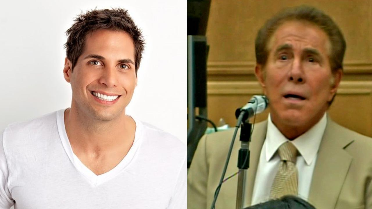 File photo of Girls Gone Wild founder Joe Francis (left) and casino magnate Steve Wynn.
