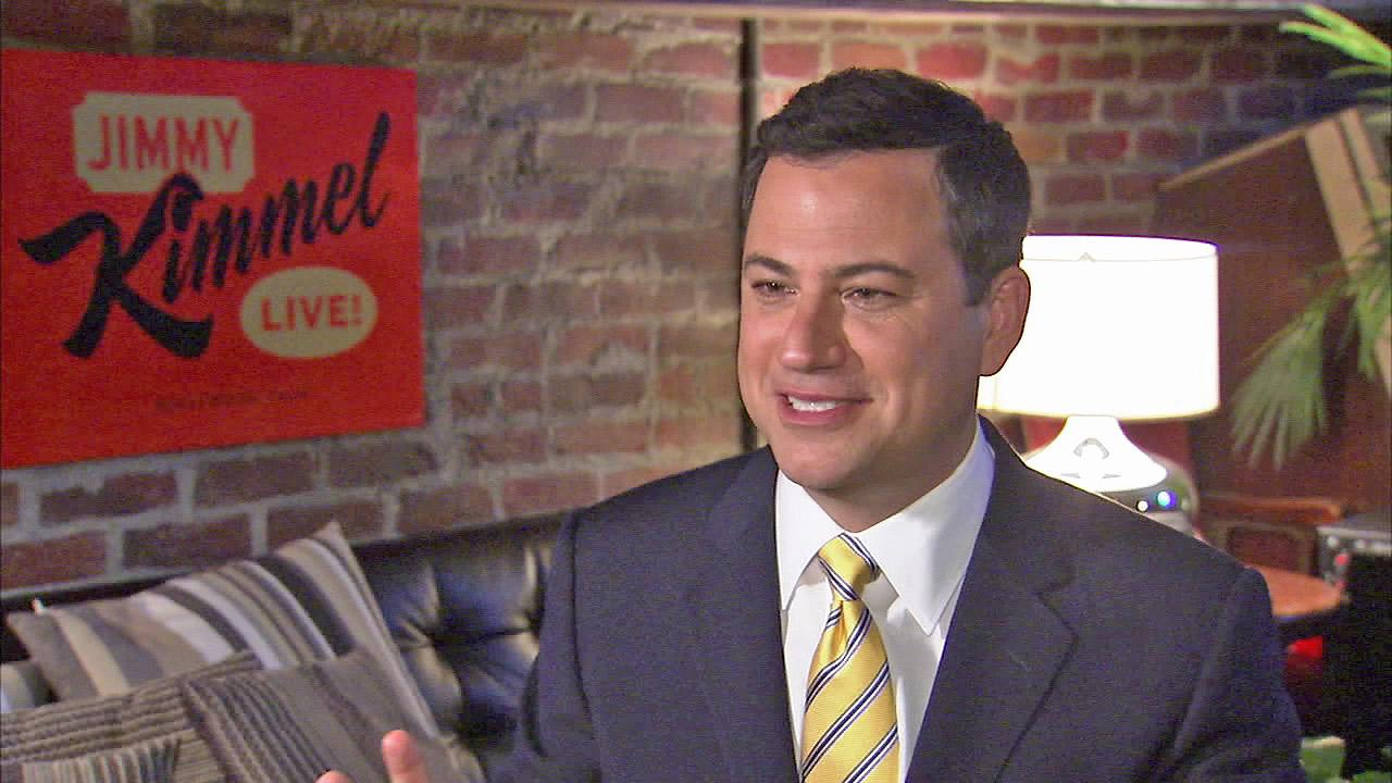 Jimmy Kimmel appears in this undated file photo.