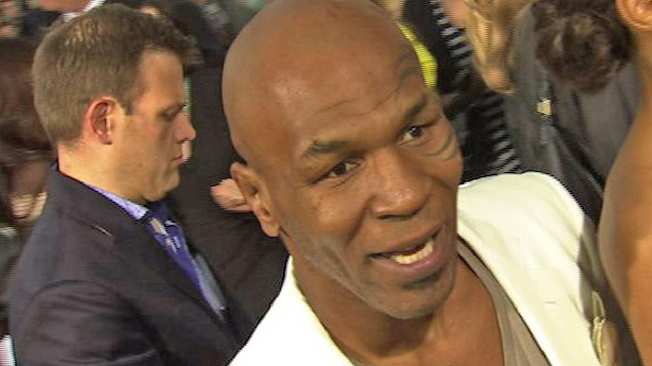 Mike Tyson speaks to OnTheRedCarpet.com about The Hangover Part 2 at the Los Angeles premiere of the movie in May 2011.