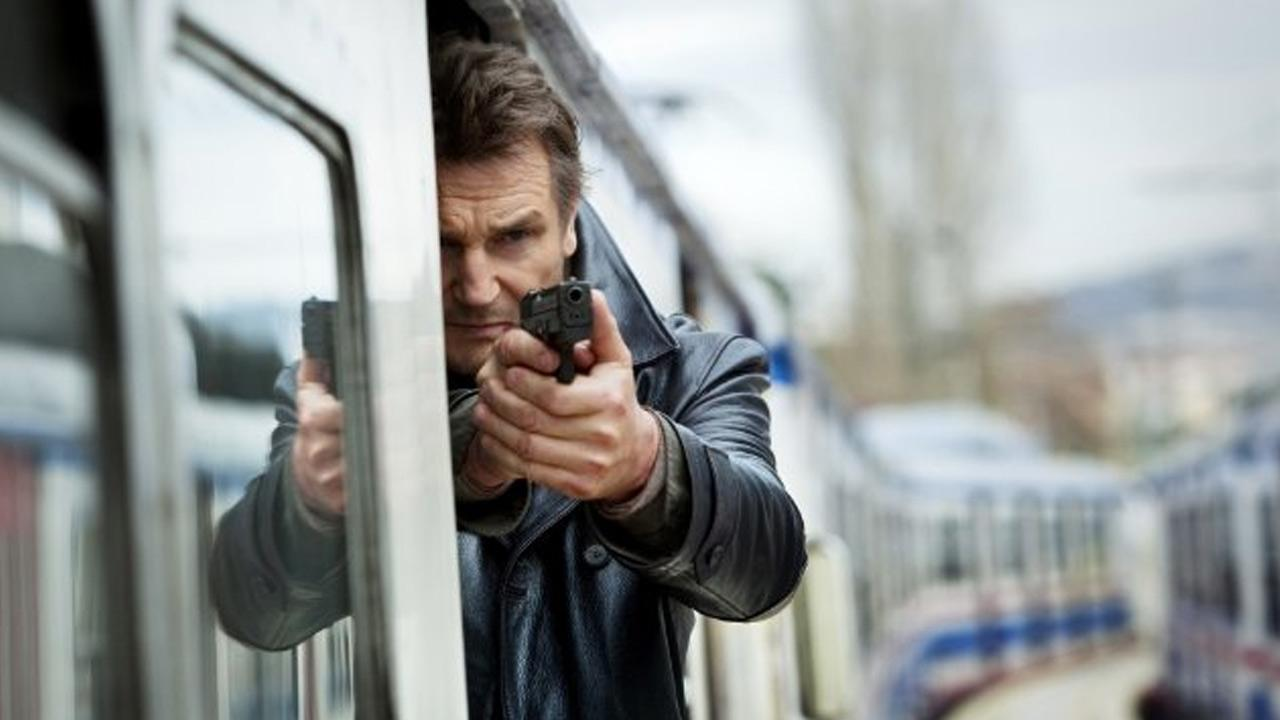 Liam Neeson appears in a scene from the 2012 film, Taken 2.
