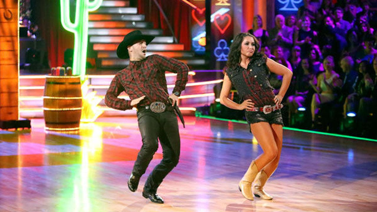 Reality star Bristol Palin and partner Mark Ballas received 18 out of 30 points from the judges for their Quickstep on week two of Dancing With The Stars: All-Stars, which aired on Oct. 1, 2012.