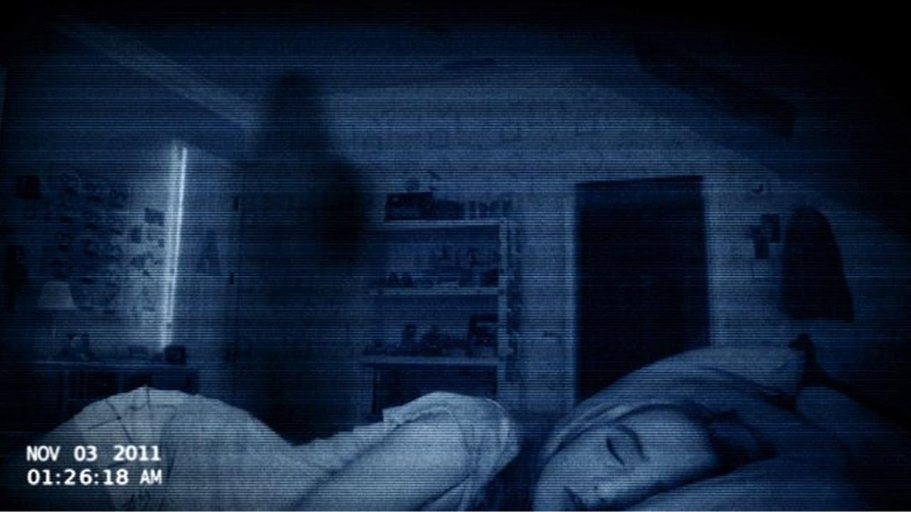 Kathryn Newton appears in a scene from the 2012 film, Paranormal Activity 4.