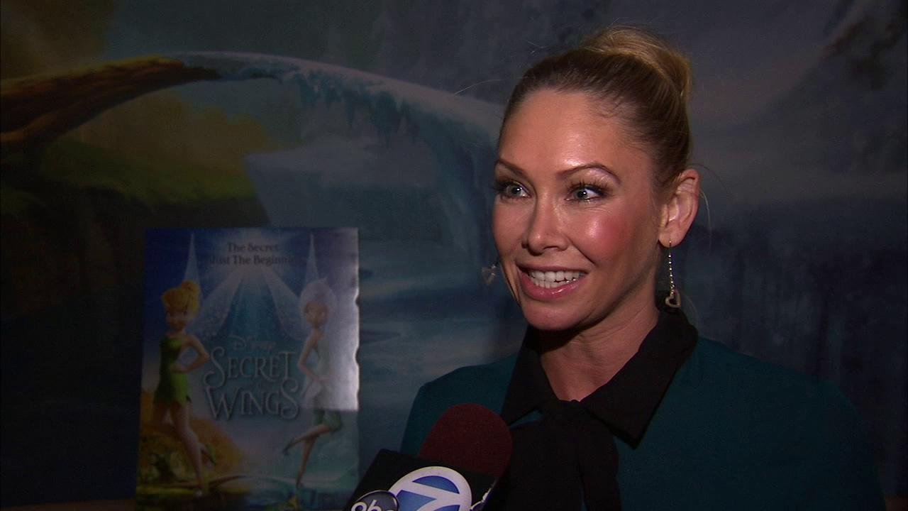 Pro dancer Kym Johnson talks to Eyewitness News at a special screening of Disneys Secret of the Wings on Thursday, Oct. 25, 2012.