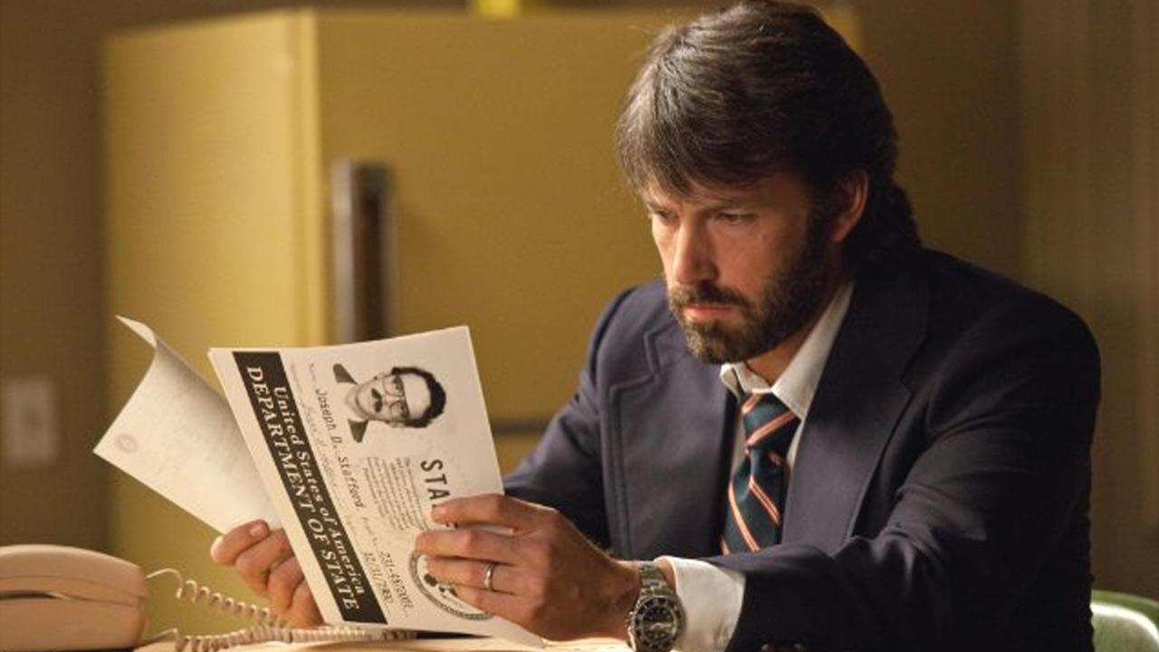 Ben Affleck appears in a still image from a scene from Argo.