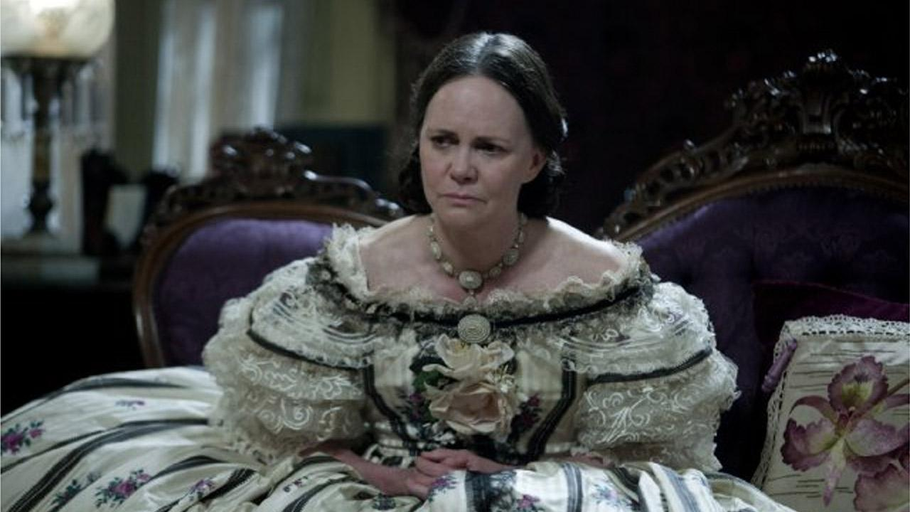 Sally Field in a scene from the 2012 film, Lincoln.