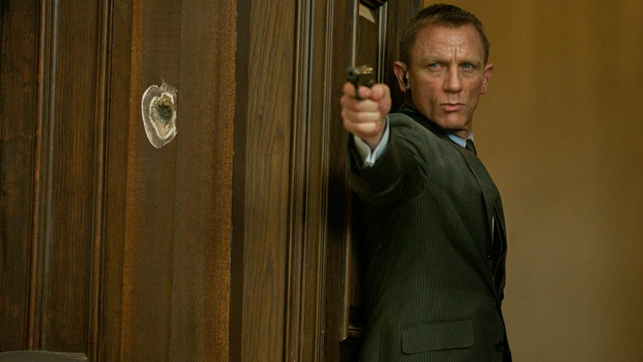 Daniel Craig appears in a still image from a scene in the 2012 James Bond film, Skyfall.