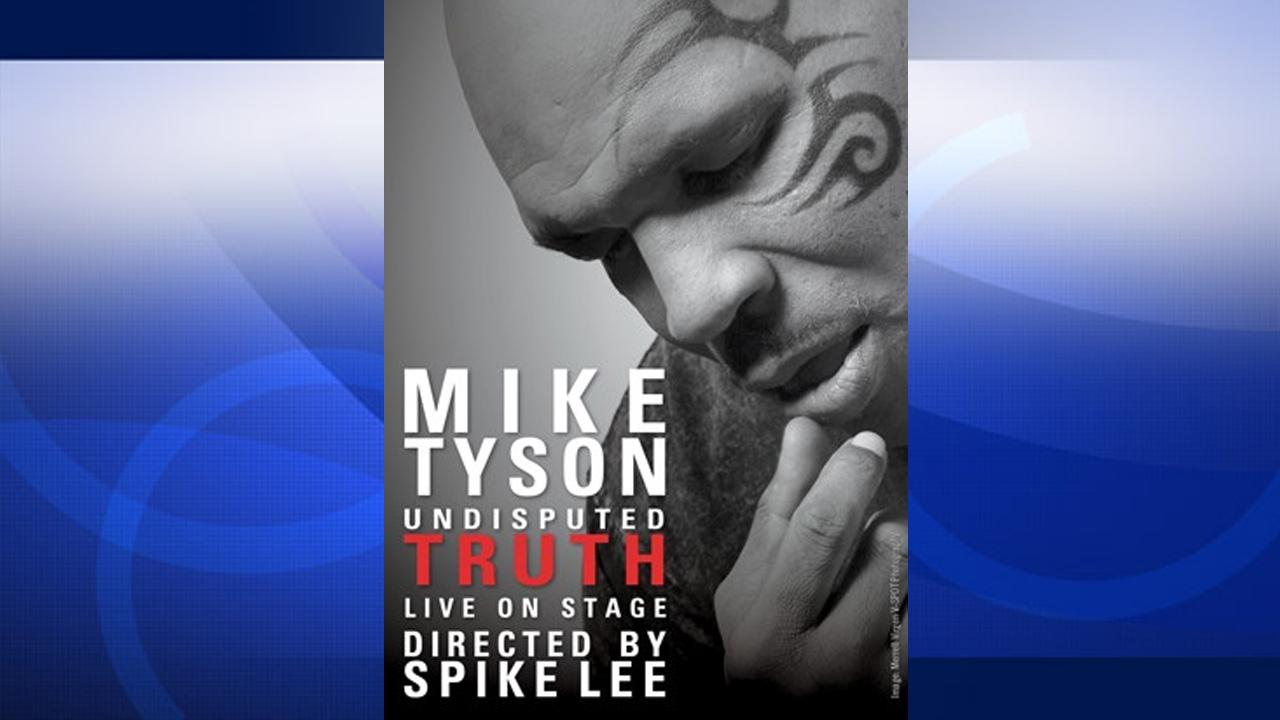 Mike Tyson: Undisputed Truth one-man show flyer.