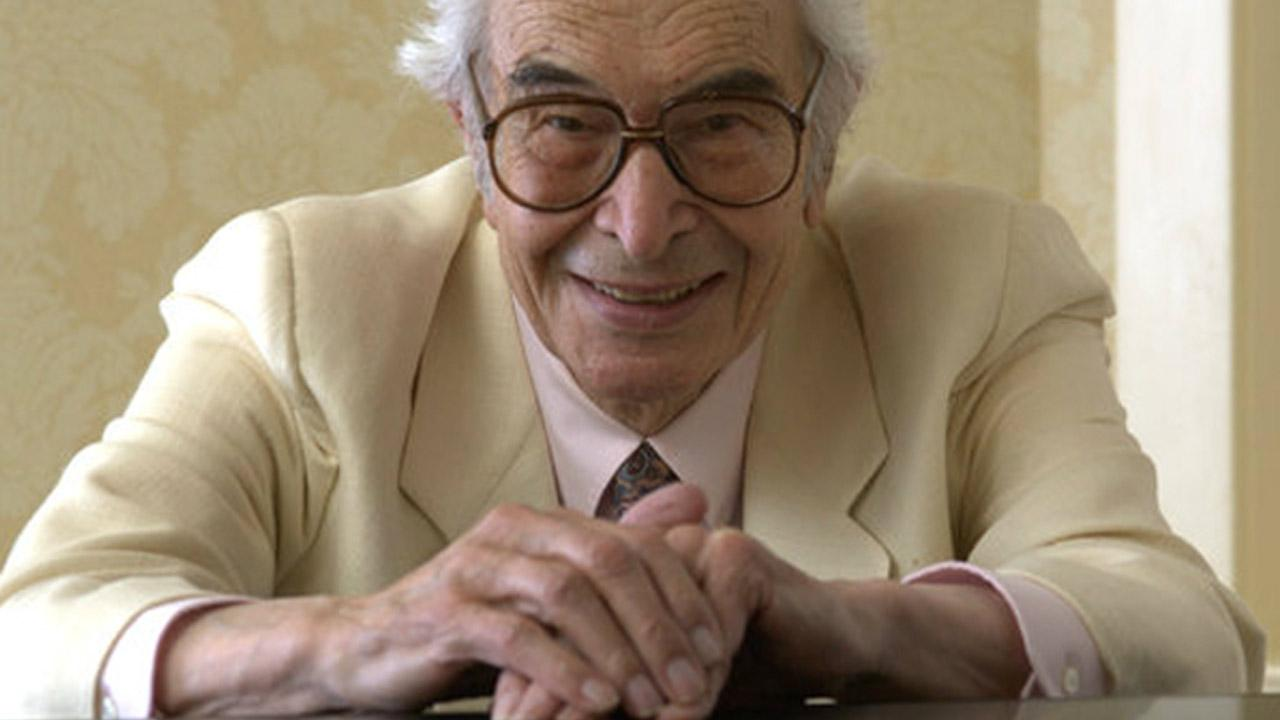 Jazz composer and pianist Dave Brubeck appears in a photo from his website, www.davebrubeck.com. Brubeck died of heart failure, according to his manager, on Wednesday, Dec. 5, 2012.