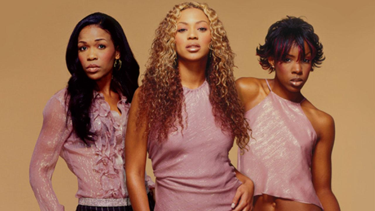 Michelle Williams, Beyonce and Kelly Rowland (left to right) appear in a photo from the Destinys Child website.