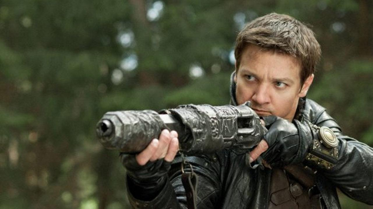Jeremy Renner is seen in a still from the 2013 action film Hansel & Gretel: Witch Hunters.