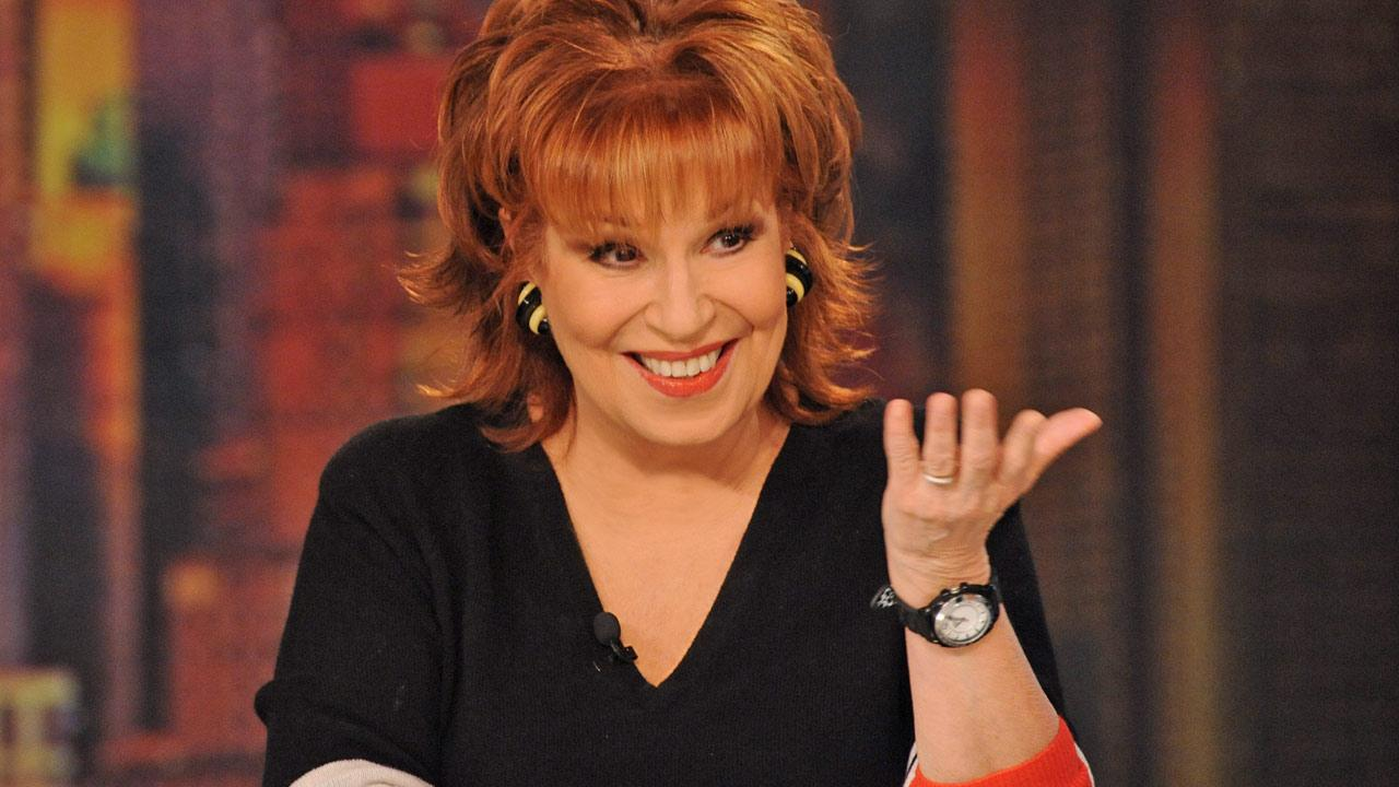 Co-host Joy Behar appears on The View on Wednesday, March 6, 2013.