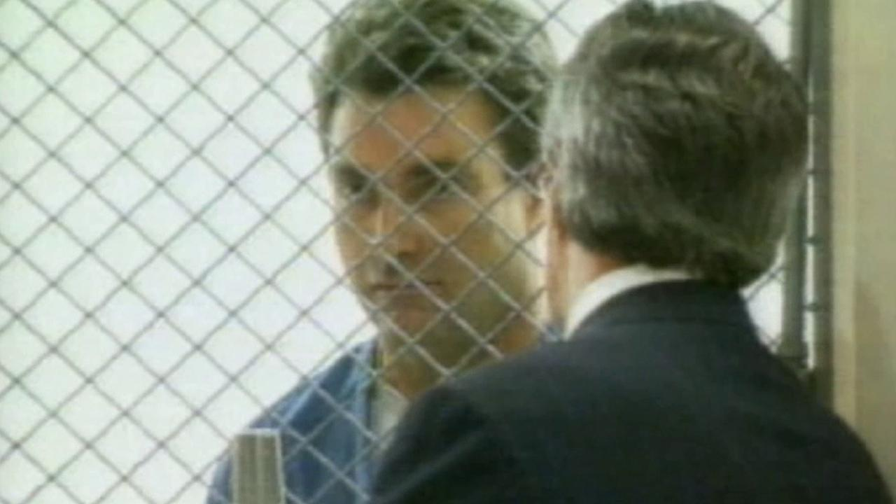 Max Factor heir Andrew Luster is seen in court in this undated file photo.
