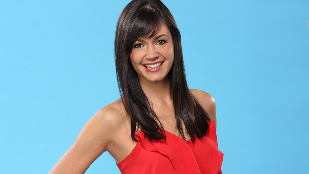 Desiree Hartsock, 26, is seen in a promotional photo for The Bachelor.