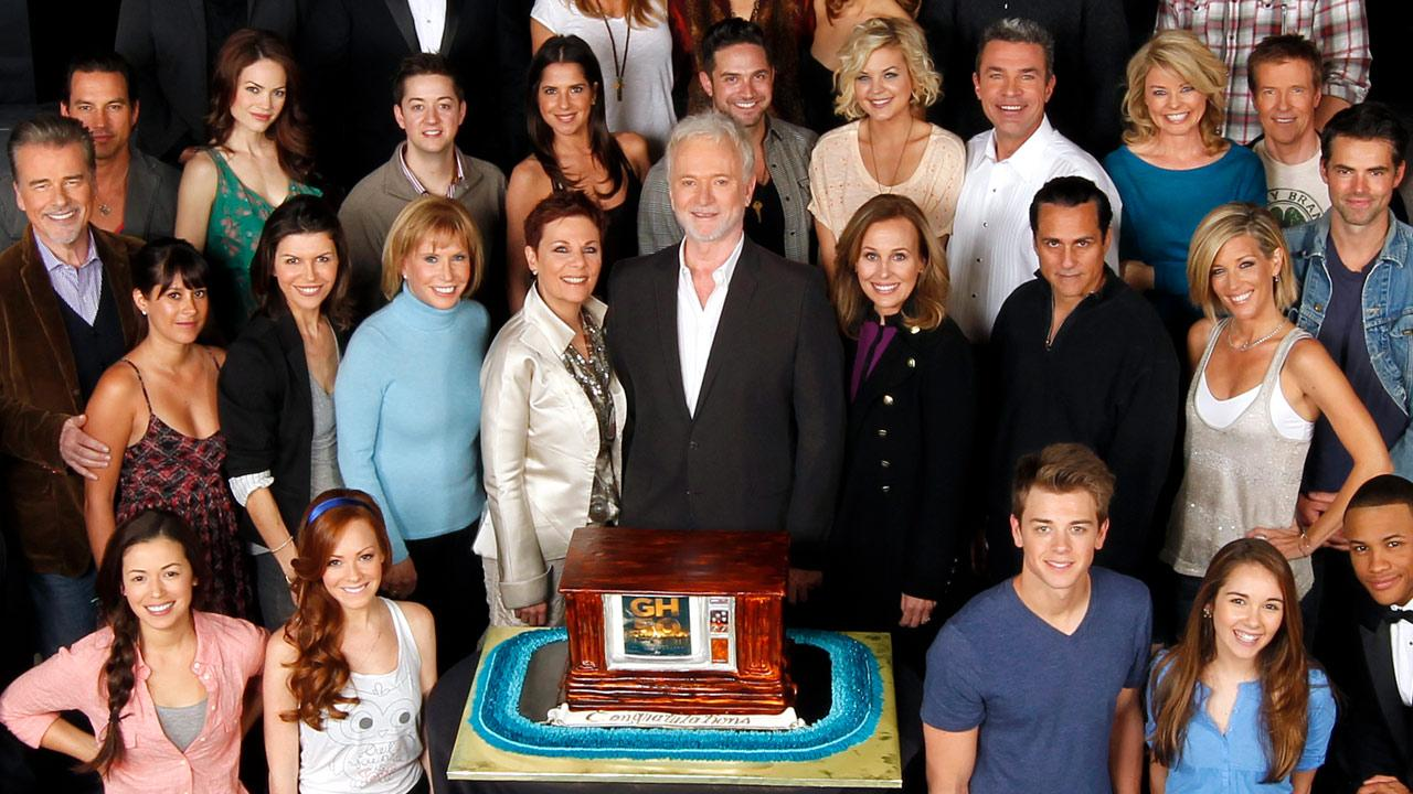 The cast of ABCs General Hospital celebrates the daytime dramas 50th anniversary.