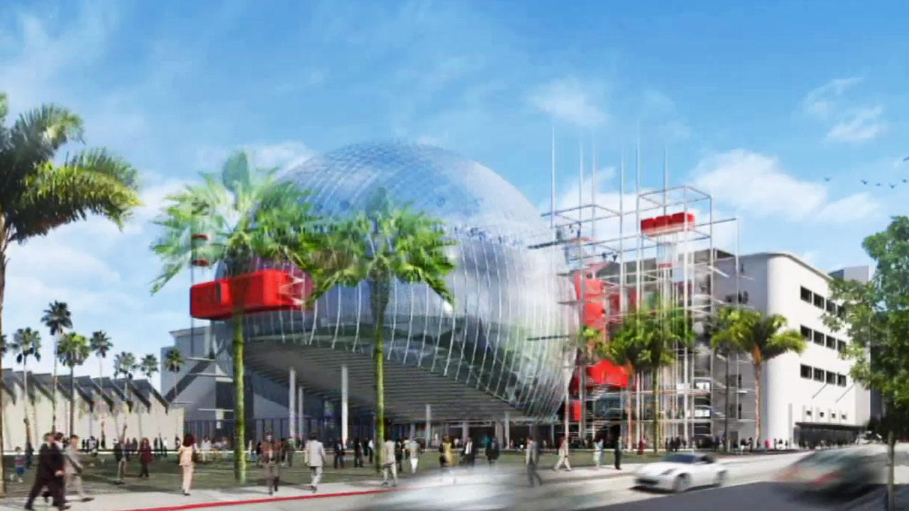 The historic May company building on Wilshire Boulevards Miracle Mile will be transformed into a museum of the Academy Museum of Motion Pictures.