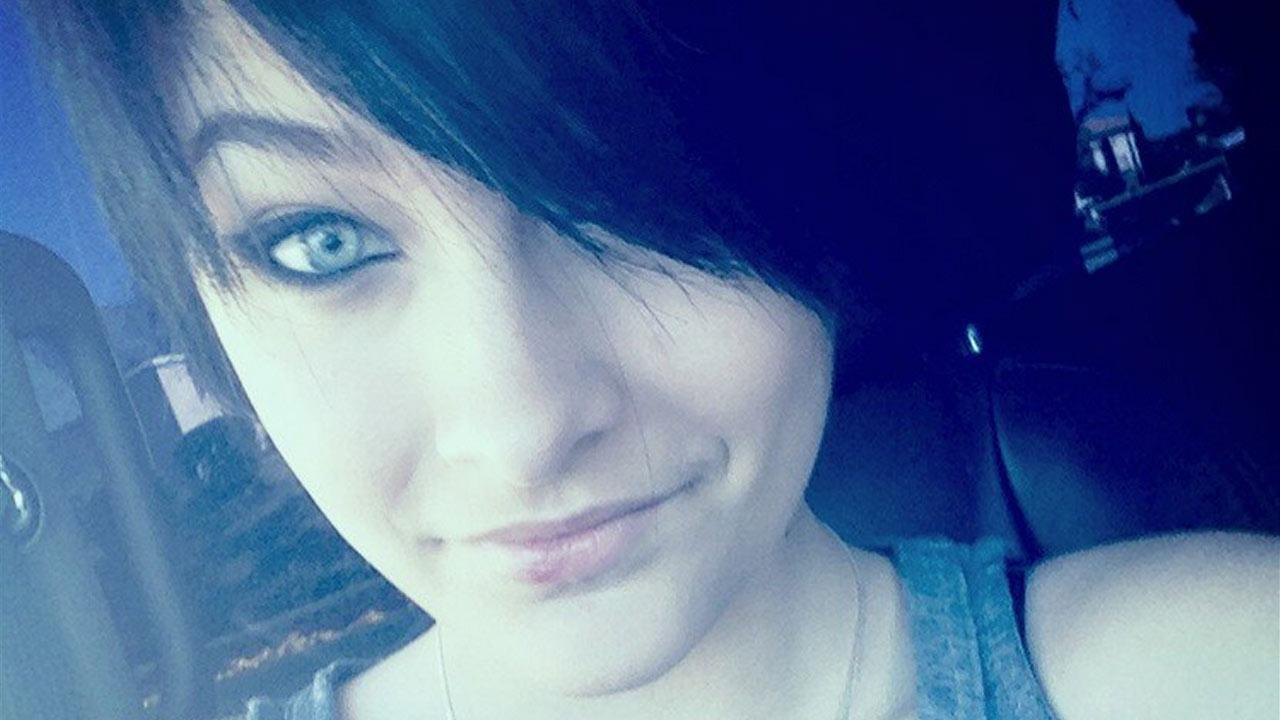 Paris Jackson appears in a photo she posted on her Twitter account.