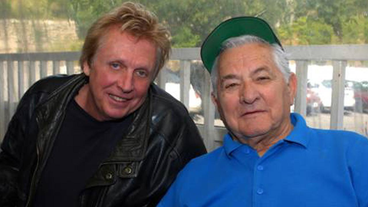 Former Jefferson Airplane drummer Joey Covington, left, and Mario Maglieri of the Whisky A Go Go appear in this 2008 photo on Covingtons website.