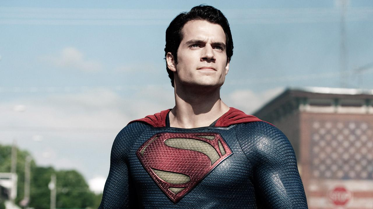Henry Cavill appears in a scene from the 2013 film Man of Steel.