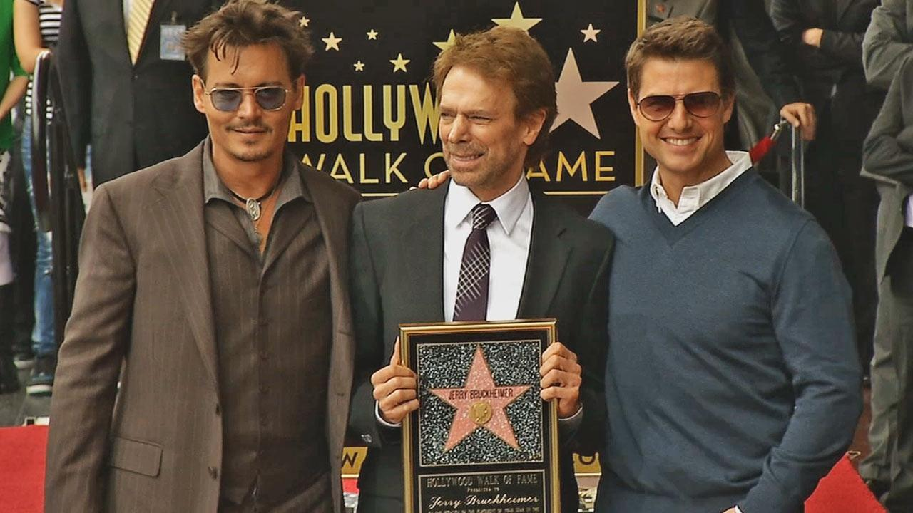Legendary Hollywood producer Jerry Bruckheimer received the 2,501st star on the Hollywood Walk of Fame Monday, June 24, 2013.